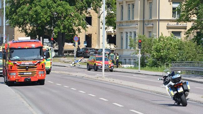 Uppgifter: Gängkonflikt bakom explosionen i Linköping