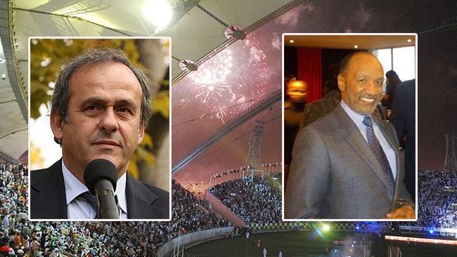 Platini gripen av fransk polis på grund av fotbolls-VM i Qatar