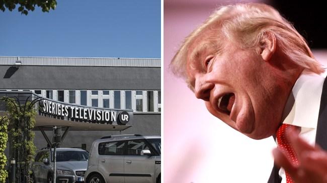 SVT fälls för Trump-inslag