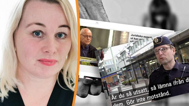 """Heberlein: """"Blaming the victim"""" är tillbaka"""