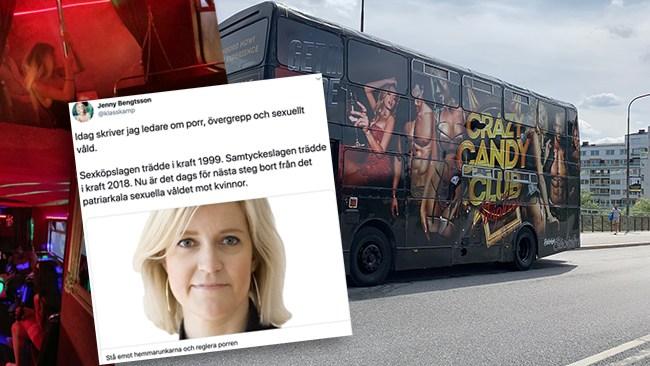 Arbetsmiljöverket hotar stoppa strippbussen – inspektören stripteasemotståndare