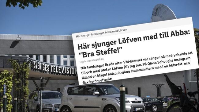 """Här får Löfven (S) beröm i SVT: """"Bra Steffe"""""""