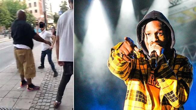 Inget åtal mot mannen som angrep A$AP Rockys livvakt