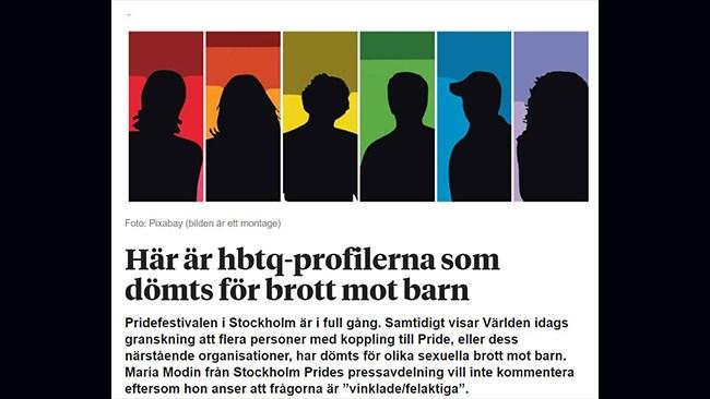 Lärare delade Pride-kritisk artikel på Facebook – fick sparken