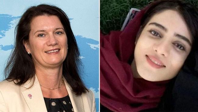 Ann Linde (S) sågas efter uttalande om iransk kvinna som brände sig till döds