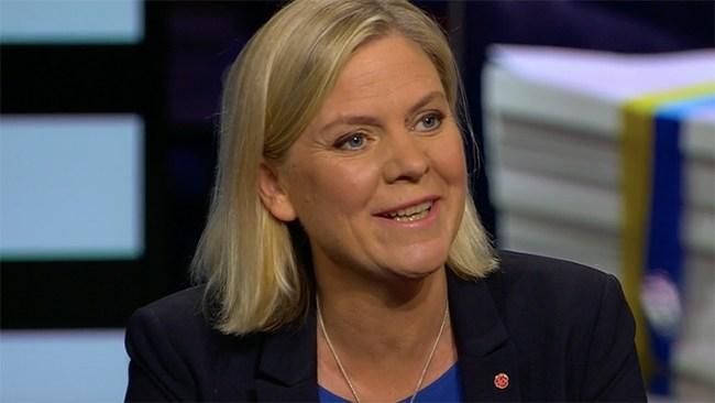 """Andersson om ökande arbetslöshet: """"Väldigt bra"""""""