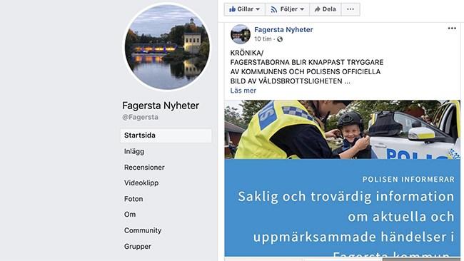 Polisen och kommunen skönmålar i Fagersta – rutinerad journalist sågar