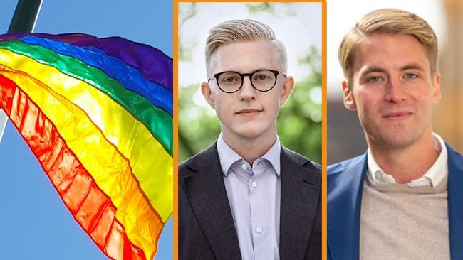 M+MP=Sant: Lägger motion om att Prideflaggan ska hissas varje månad