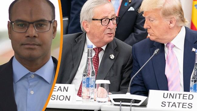 Ronie Berggren: Kaoset i Mellanöstern beror på sprickan mellan Europa och Republikanernas USA