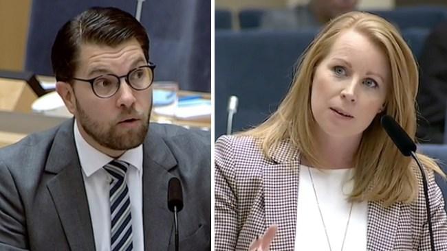 Lööf till Åkesson: Hur kan vi rädda välfärden utan asylinvandring?