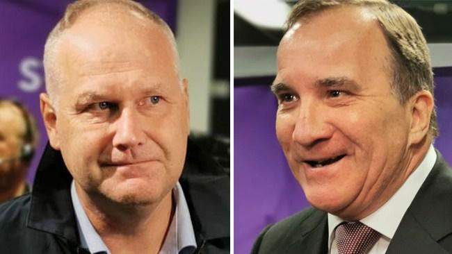 """Löfven backar Sjöstedt – tycker SD är rasister: """"Läs väldigt noga på Expos hemsida"""""""