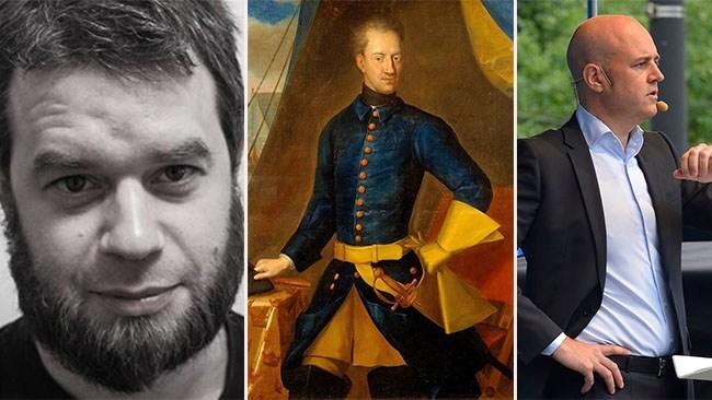 "Johannes Nilsson: Karl XII:s ""stormakt"" var lika misslyckad som Reinfeldts"
