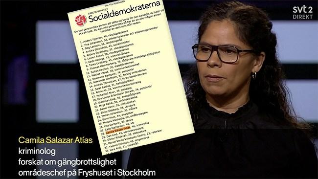 Kriminolog intervjuades – SVT glömde berätta att hon är socialdemokrat