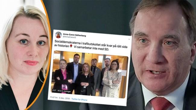 Heberlein: Smutskastandet av högern är socialdemokratins dödsryckningar