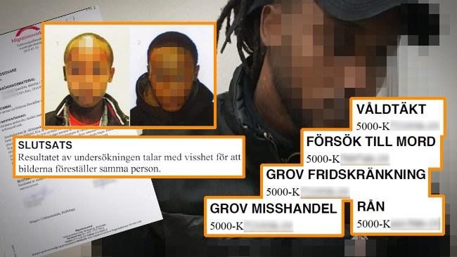 Bodde redan i Sverige med familj och uppehållstillstånd – fick asyl som ensamkommande barn under falsk identitet