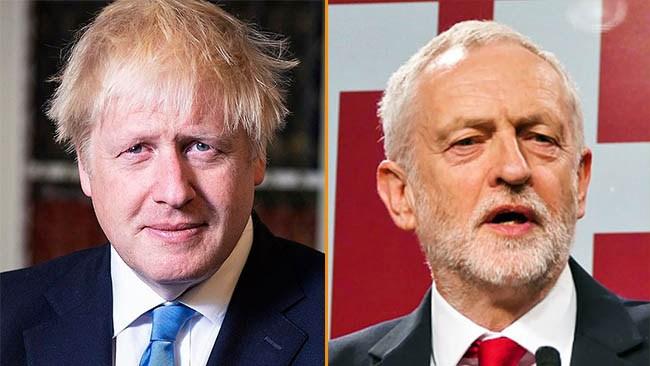 Storseger för högern i brittiska valet när Labour kollapsar