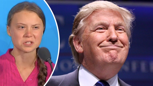 """Trump till Thunberg: """"Chill Greta, Chill!"""""""