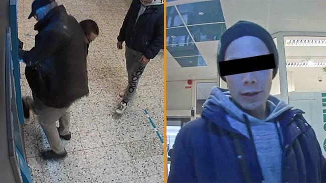 """Bilderna från rånet av 82-åringen i Söderhamn – nu väcks åtal: """"Ätit mycket """"benzo"""""""""""