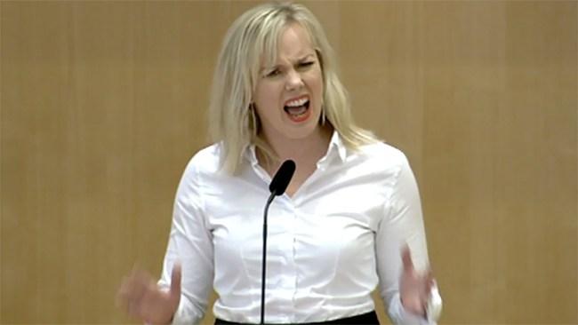 Nu kräver Snecker (V) skärpta straff – för sexism