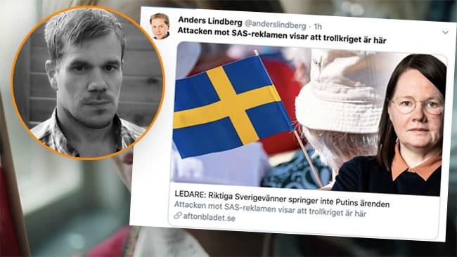 Zackrisson: Foliehattsteorier om SAS-filmen sänker Aftonbladet