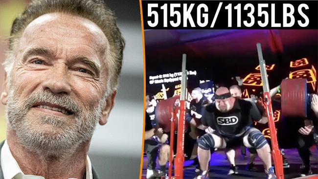Arnold Schwarzenegger och Blaine Sumner Foto: Governo do Estado de São Paulo/Instagram