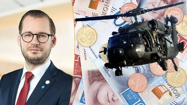 """Bäckström Johansson (SD): Lokala """"helikopterpengar"""" i landets kommuner"""