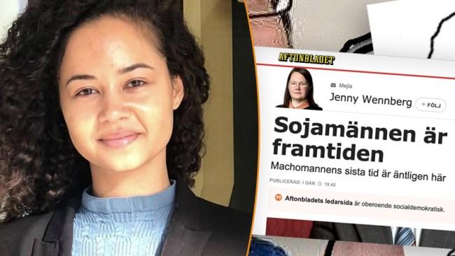 Nej Aftonbladet, sojamän är INTE framtiden