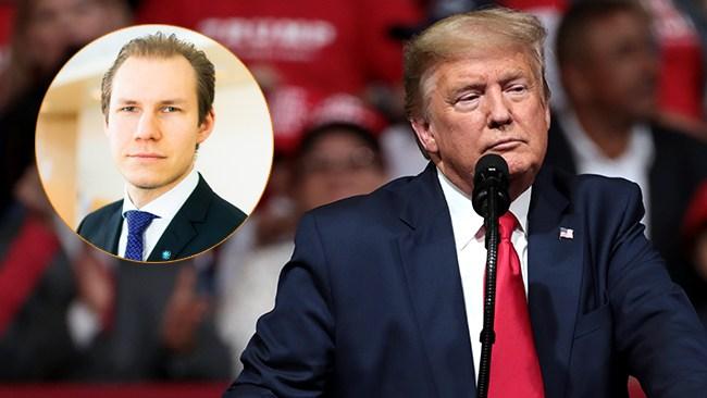 "Trump terrorklassar Antifa – SD:s Wiechel: ""Något Sverige borde ta efter"""