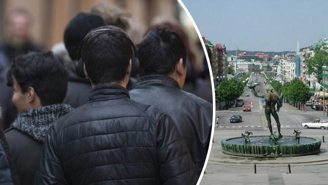 Invandrargäng krigar om narkotikahandeln i Göteborg
