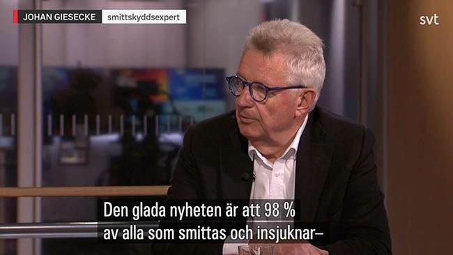 """SVT om Gieseckes kontrakt: """"Hade vi känt till detta så hade vi velat redovisa det för publiken"""""""