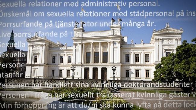 Förtal och otrohet på Lunds universitet – försmådd kvinna döms