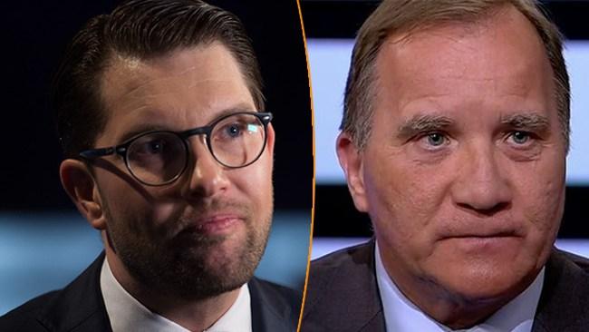 Åkesson tvåa i förtroendeligan – passerar Löfven