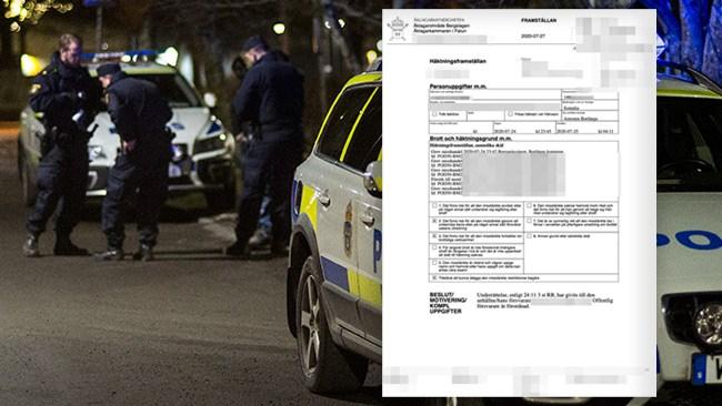 """Taxichaufför begärs häktad för påkörningen i Borlänge: """"Pågående konflikt"""""""