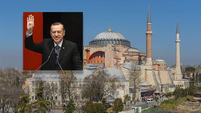 Erdogan gör Hagia Sofia till moské