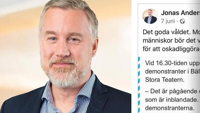 """SD-politiker avstängd från Facebook: """"Åsiktsavstängning"""""""