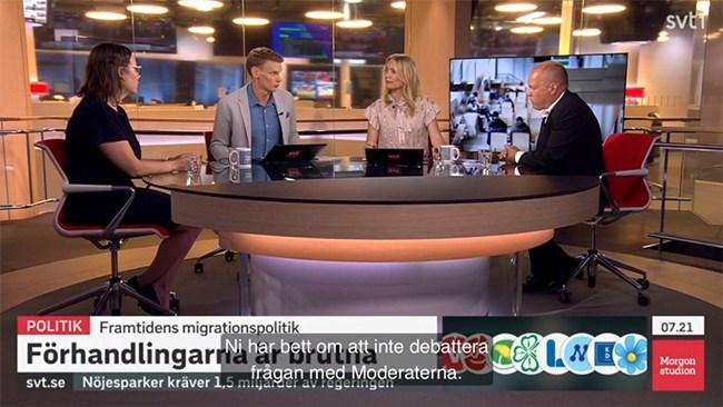 Morgan Johansson vägrade debattera mot M – nu svarar SVT
