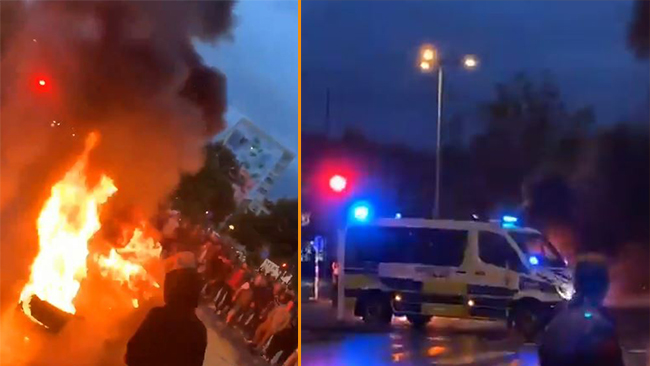 Upplopp I Malmo Efter Koranbranning De Kastade Gatusten Pa Polisen Nyheter Idag