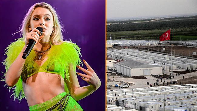 """Zara Larsson planerar skänka Huaweipengar till """"asyl-läger"""" i Turkiet"""