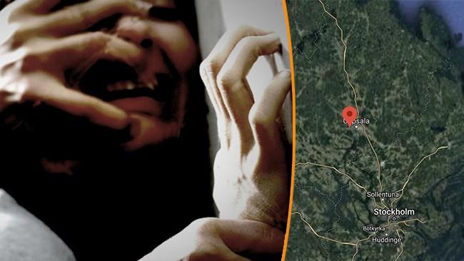 Våldtäktsförsök efter nattbuss i Uppsala