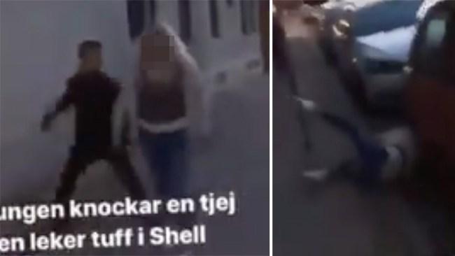 Brutalt överfall i Malmö fångat på film – offret identifierat