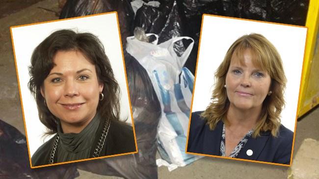 Liberalerna fortsätter ducka frågor om fiaskoskatt på plastpåsar