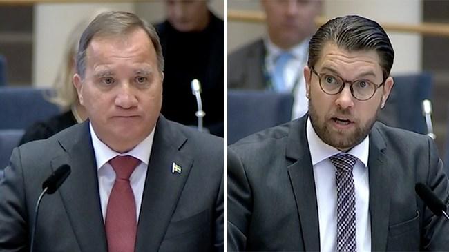 """Åkesson till Löfven: Säg """"jag hade fel""""!"""