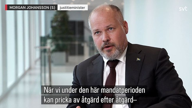 Gängbrotten ökar – men Johansson (S) tror på vändning innan valet