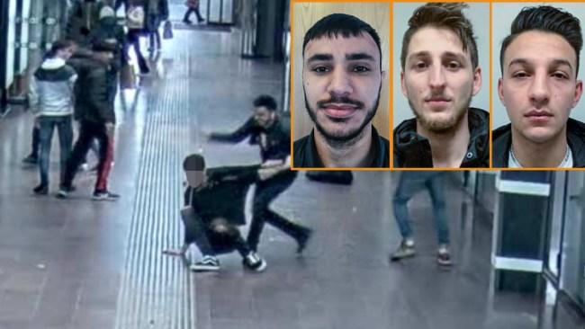 Böghatarna från Syrien: Nu döms de för misshandeln på Göteborgs centralstation