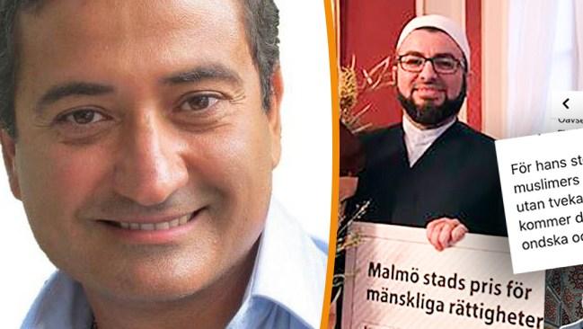 """Malmöimamen Barakats nya inlägg sågas av expert: """"Vill lura till sig stöd"""""""