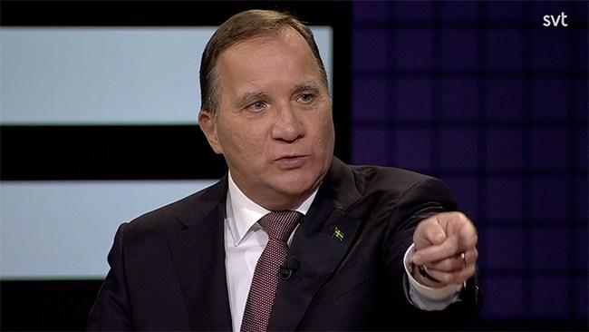 """Löfven till attack på oppositionen: """"Politiskt käbbel"""""""