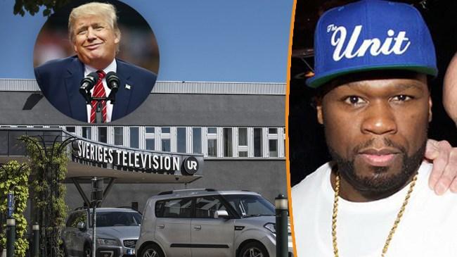 """SVT om 50 cent: """"Ska han rösta som en rik amerikan eller som en svart amerikan?"""""""