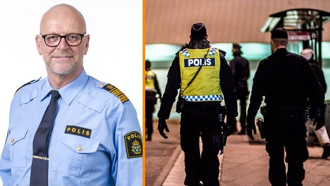 "Polischefen Erik Nord: ""Ingen som har velat ta bladet från munnen"""