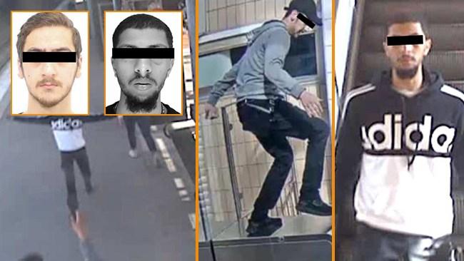 Monstren i Solna: Här fångas de på övervakningskamerorna
