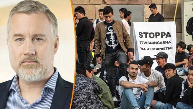 """Andersson (SD) om regeringens nya drag: """"Handlar om att skyla över tidigare dålig lagstiftning"""""""